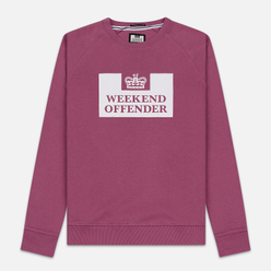 Мужская толстовка Weekend Offender Penitentiary AW19 Old Rose