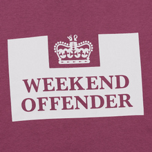 Мужская толстовка Weekend Offender Penitentiary AW19 Old Rose фото- 2