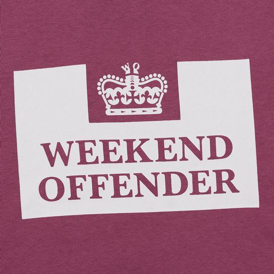 Мужская толстовка Weekend Offender Penitentiary AW19 Old Rose