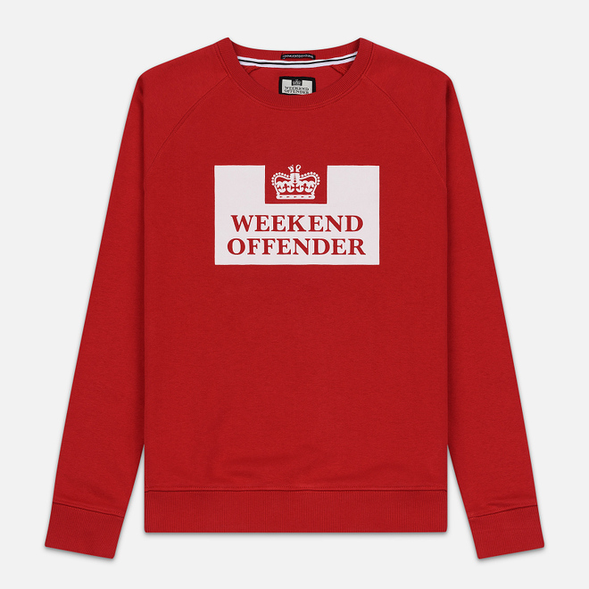 Мужская толстовка Weekend Offender Penitentiary AW19 Ruby