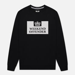 Мужская толстовка Weekend Offender Penitentiary Classic Black