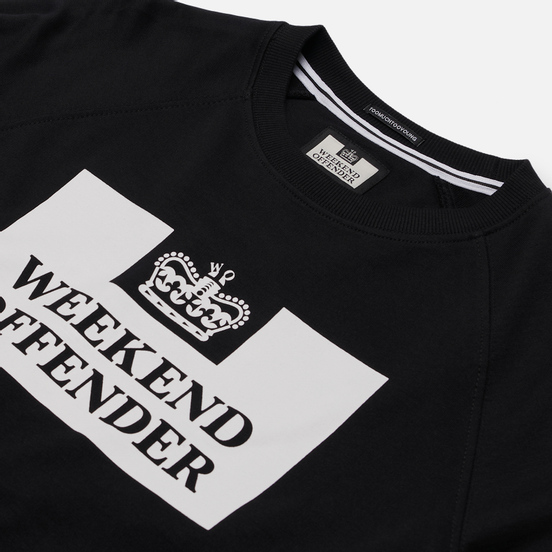 Мужская толстовка Weekend Offender Penitentiary Classic Black