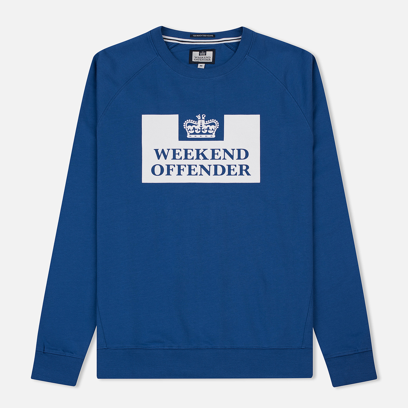 Мужская толстовка Weekend Offender Penitentiary Classic Reef Blue