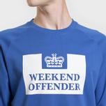 Мужская толстовка Weekend Offender Penitentiary Classic Reef Blue фото- 2