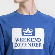 Мужская толстовка Weekend Offender Penitentiary Classic Reef Blue фото- 2
