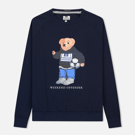 Мужская толстовка Weekend Offender Prison Bear Navy
