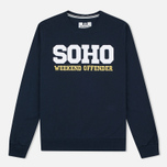 Weekend Offender Soho Sweatshirt Navy photo- 0