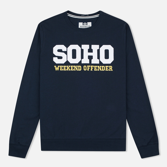 Weekend Offender Soho Sweatshirt Navy