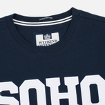 Weekend Offender Soho Sweatshirt Navy photo- 1