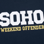 Weekend Offender Soho Sweatshirt Navy photo- 2