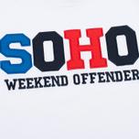 Мужская толстовка Weekend Offender Soho White фото- 2