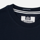 Мужская толстовка Weekend Offender Trainer Wheel Sweat Navy фото- 2