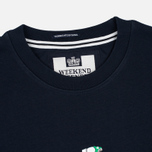 Мужская толстовка Weekend Offender Trainer Wheel Sweat Navy фото- 1