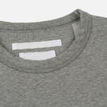 Мужская толстовка White Mountaineering Drop Shoulder Logo Grey фото- 1