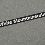 Мужская толстовка White Mountaineering Drop Shoulder Logo Grey фото- 2