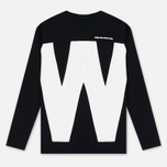 Мужская толстовка White Mountaineering W Contrasted Black фото- 0