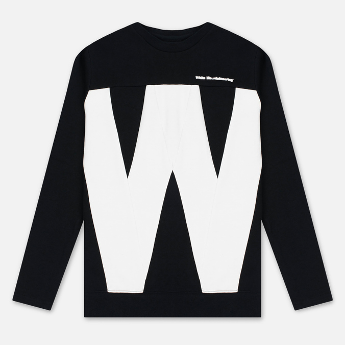 Мужская толстовка White Mountaineering W Contrasted Black