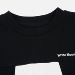 Мужская толстовка White Mountaineering W Contrasted Black фото- 1