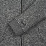 Мужская толстовка Woolrich Jaspe Full Zip Hoodie Grey Melange фото- 2