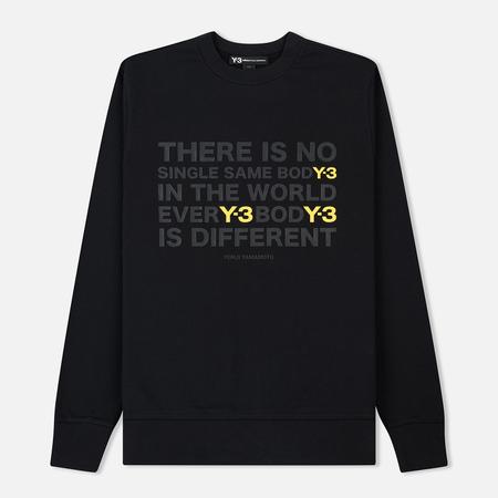 Мужская толстовка Y-3 Artwork Crew Black/Yellow