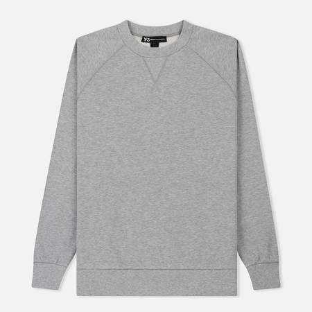 Мужская толстовка Y-3 Classic Crew LB Medium Grey Heather