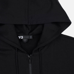 Y-3 Classic Fit Logo Full Zip Men's Hoody Black photo- 1