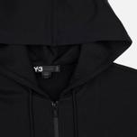 Мужская толстовка Y-3 Classic Fit Logo Full Zip Black фото- 1