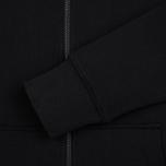 Мужская толстовка Y-3 Classic Fit Logo Full Zip Black фото- 3