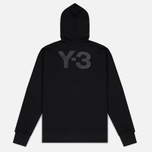 Y-3 Classic Fit Logo Full Zip Men's Hoody Black photo- 5
