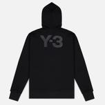Мужская толстовка Y-3 Classic Fit Logo Full Zip Black фото- 5