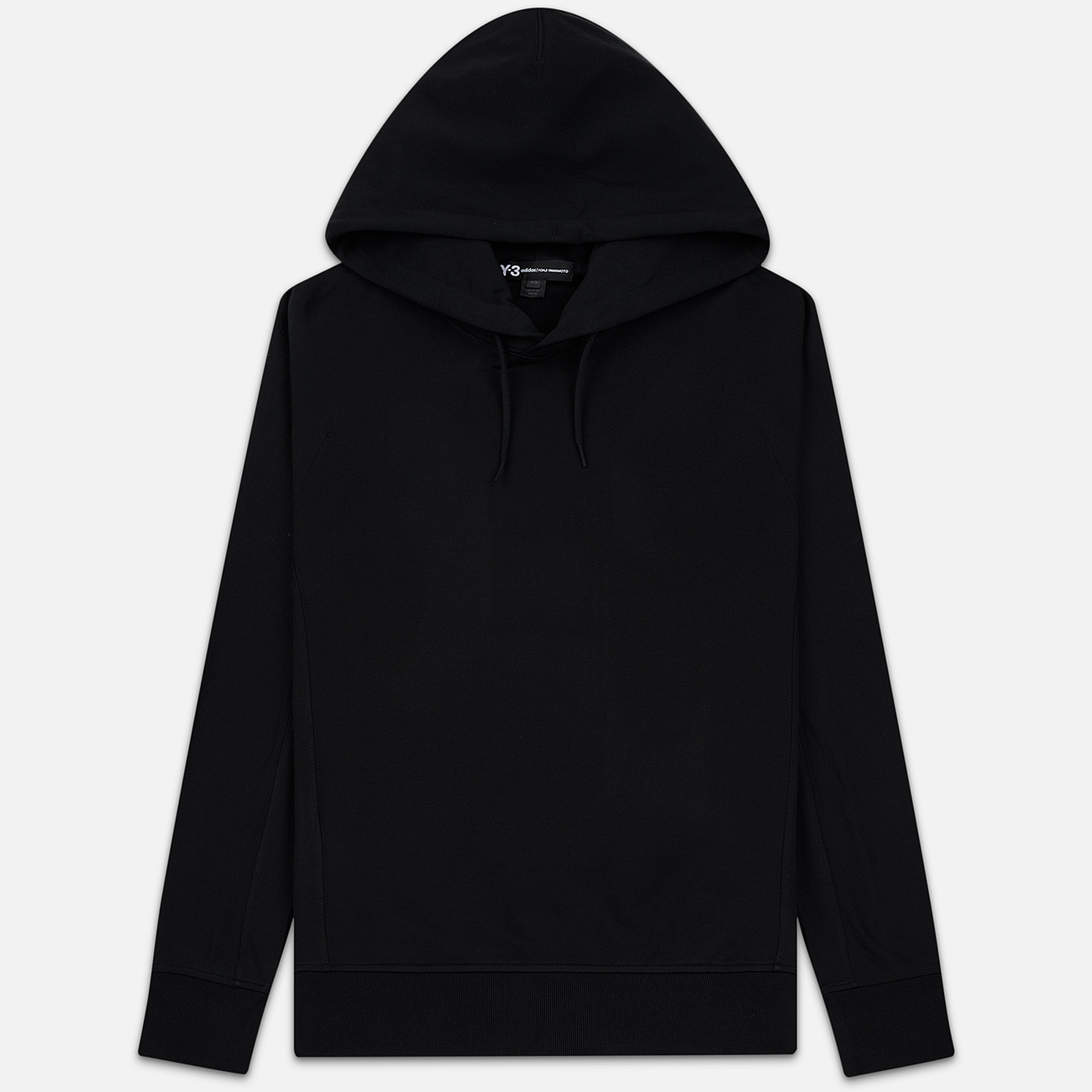 Мужская толстовка Y-3 Classic Hoodie Logo Print Back Black
