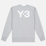 Мужская толстовка Y-3 Classic Logo Light Solid Grey фото- 4