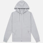 Мужская толстовка Y-3 Classic Sweat Hoodie Zip-Up Light Solid Grey фото- 0