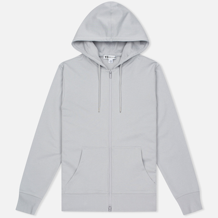 Мужская толстовка Y-3 Classic Sweat Hoodie Zip-Up Light Solid Grey