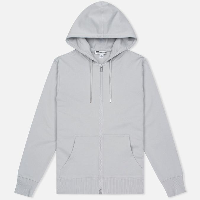 Мужская толстовка Y-3 Classic Sweat Hoodie Zip-Up Light Solid Grey
