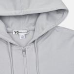Мужская толстовка Y-3 Classic Sweat Hoodie Zip-Up Light Solid Grey фото- 1