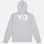 Мужская толстовка Y-3 Classic Sweat Hoodie Zip-Up Light Solid Grey фото- 3
