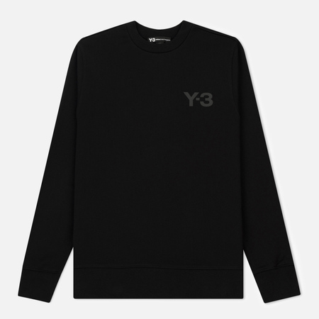 Мужская толстовка Y-3 Classic Sweater Logo Front Black