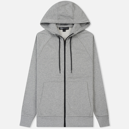 Мужская толстовка Y-3 Classic Zip Hoody LB Medium Grey Heather