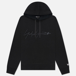 Мужская толстовка Y-3 Distressed Signature Hoodie Black