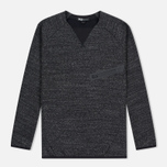 Y-3 Future SP Crew Dark Men's Sweatshirt Grey Melange photo- 0