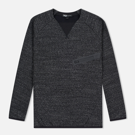 Y-3 Future SP Crew Dark Men's Sweatshirt Grey Melange