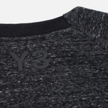 Y-3 Future SP Crew Dark Men's Sweatshirt Grey Melange photo- 3