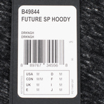 Мужская толстовка Y-3 Future SP Hoody Dark Grey Melange фото- 3