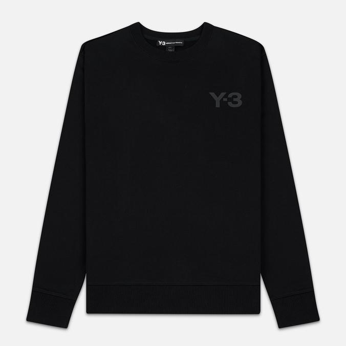 Мужская толстовка Y-3 Logo Crew Black