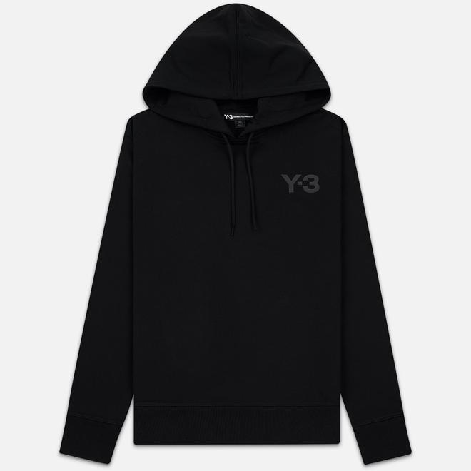 Мужская толстовка Y-3 Logo Hoodie Black