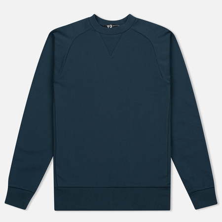 Y-3 M Classic Crew Neck Men's Sweatshirt Midnight Blue