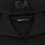 Мужская толстовка Y-3 French Terry Zip Hoodie Black фото- 1