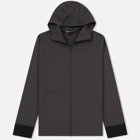 Мужская толстовка Y-3 French Terry Zip-Up Hoodie Utility Black