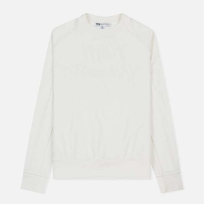 Мужская толстовка Y-3 Signature Graphic Core White
